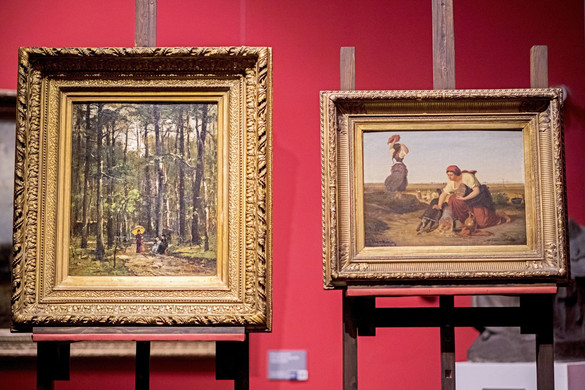 Magángyűjteményben lévő művel gazdagodott a pécsi m21 Galéria Munkácsy Mihály-kiállítása
