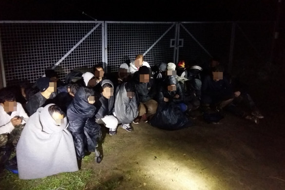Huszonhét migránst tartóztattak fel Bács-Kiskun megyében