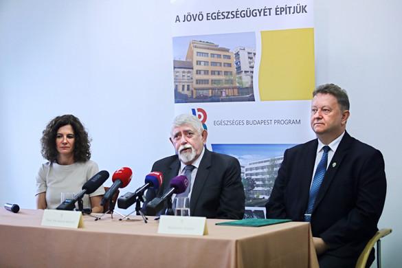 Kásler: Új sugárterápiás készüléket kapott az Uzsoki Utcai Kórház