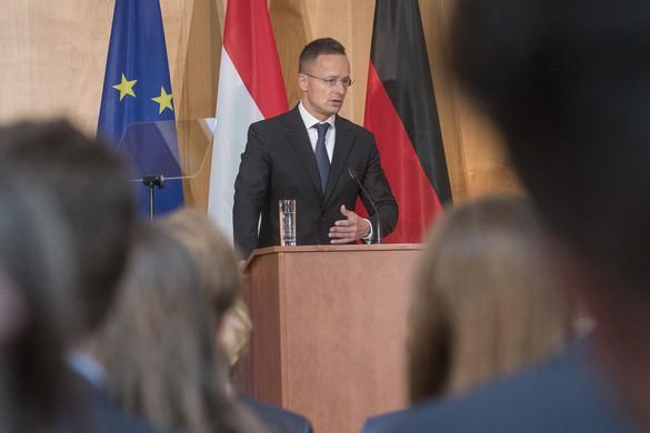 Szijjártó: Közép-Európa és Németország együttműködése meghatározza az EU jövőjét