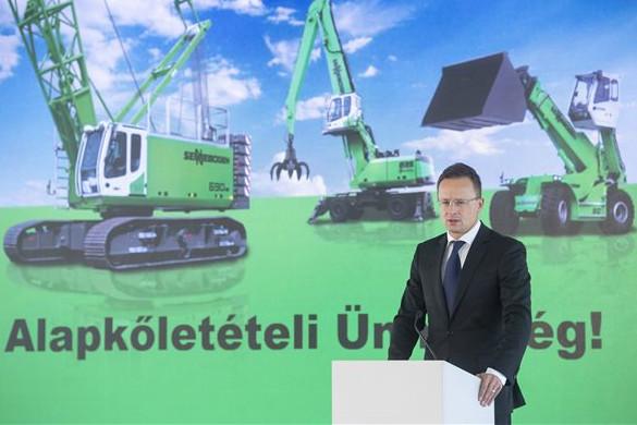 Szijjártó: Magyarország az új világgazdasági korszak nyertese