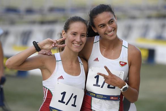Ezüstérmes a Barta Luca, Réti Kamilla páros váltóban az öttusa-világbajnokságon