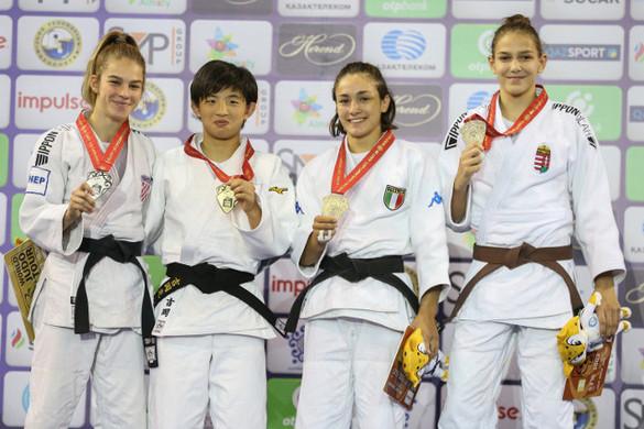 Kriza Anna bronzérmes az ifjúsági cselgáncs-vb-n