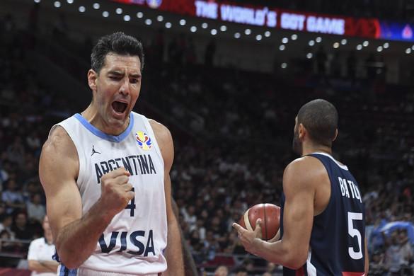 Kosárlabda: Megint a veterán Scola volt az argentinok nyerőembere