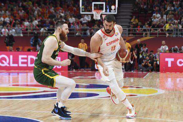 Kosárlabda: Véget ért az ausztrál csoda, Gasol döntőbe vezette a spanyolokat