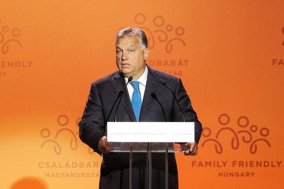 Orbán: Államcél az erőteljes demográfiai politika