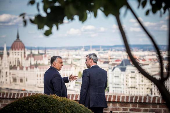 Orbán Viktor reméli, erős, a politikai iszlámra nemet mondó kormánya lesz Ausztriának