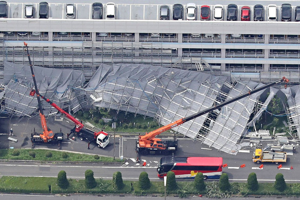 Japánban tombolt a Fakszaj tájfun