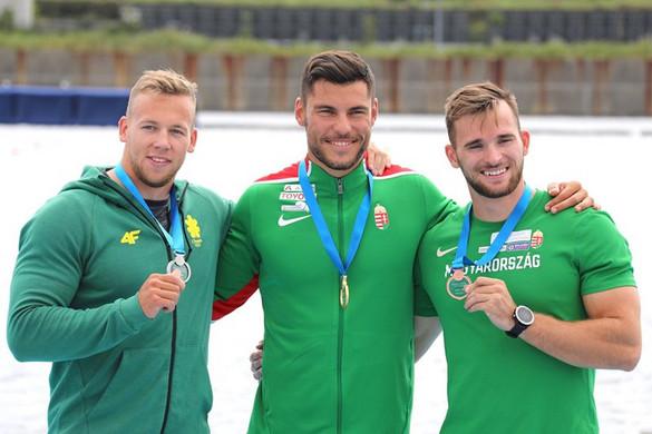 Kajak-kenu: Két arany- és egy bronzérmet nyertek a magyarok vasárnap Tokióban