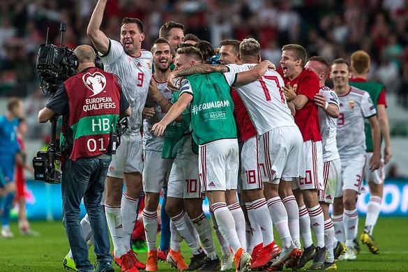 A magyar válogatott felkerült a Nemzetek Ligája második vonalába