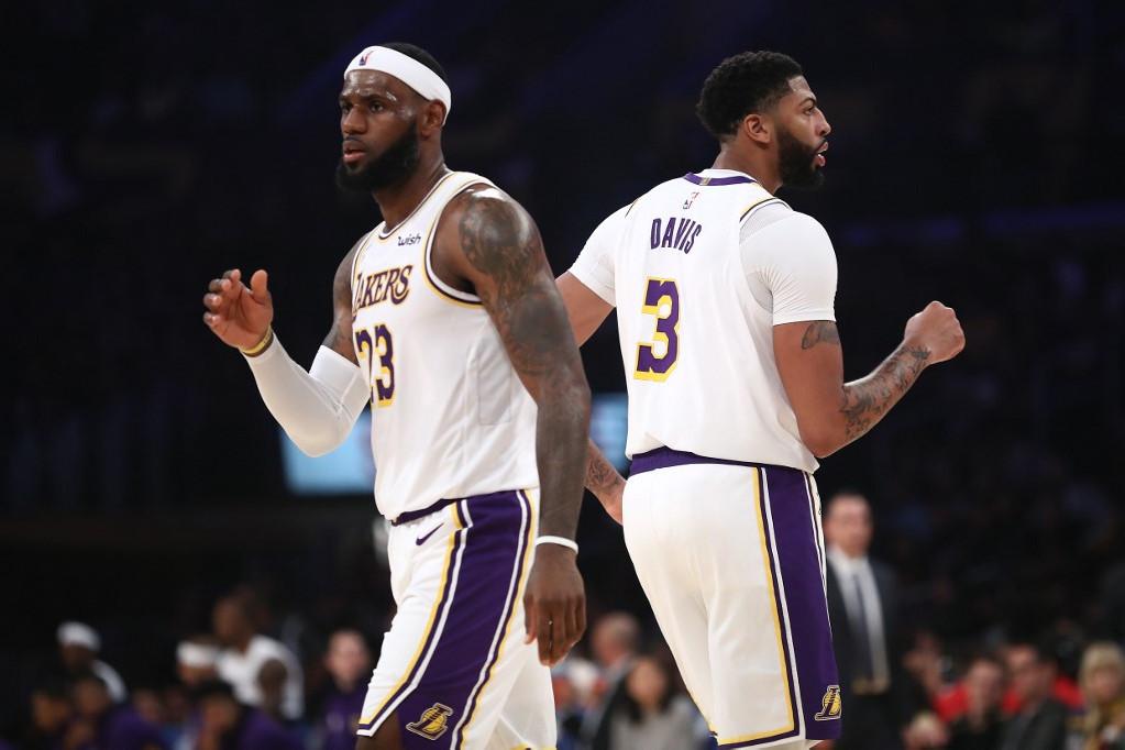 LeBron James és Anthony Davis, az újjáépülő Lakers két oszlopa