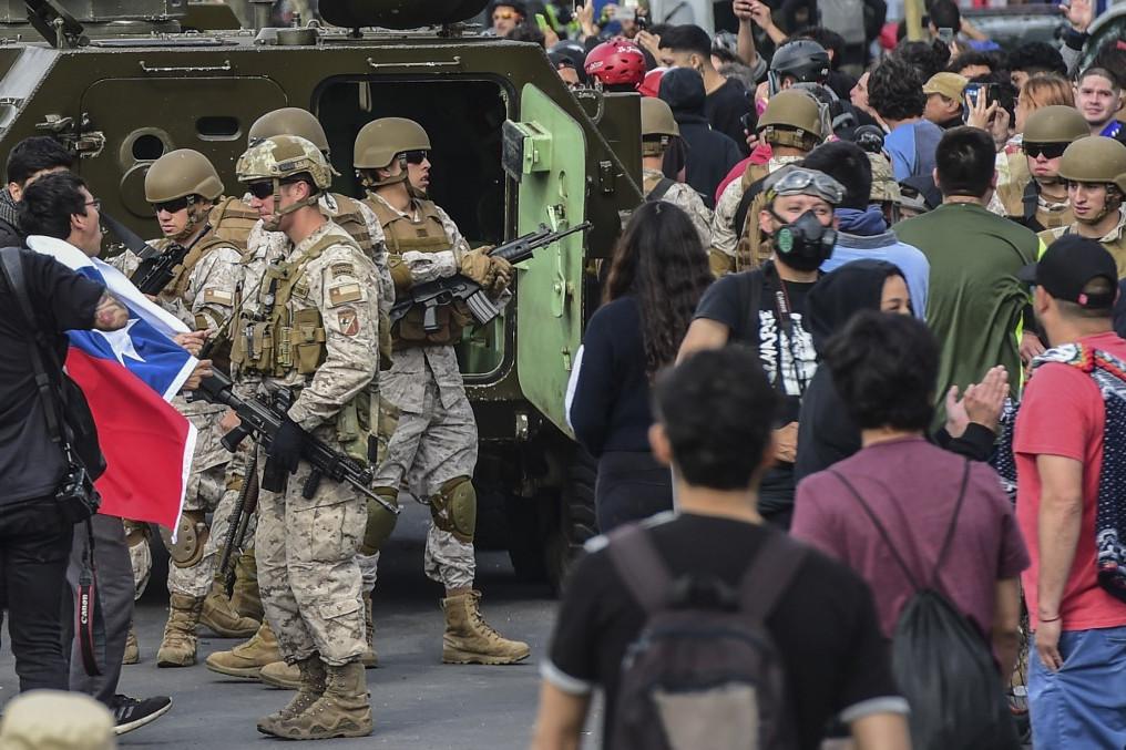 A rend helyreállítása érdekében már a hadsereget is kivezényelték