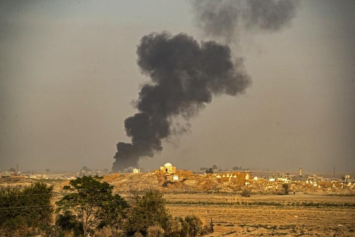 A török csapatok megtámadták Szíriát