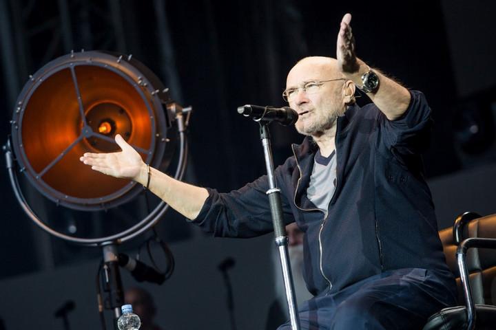 Koncert közben sérült meg Phil Collins