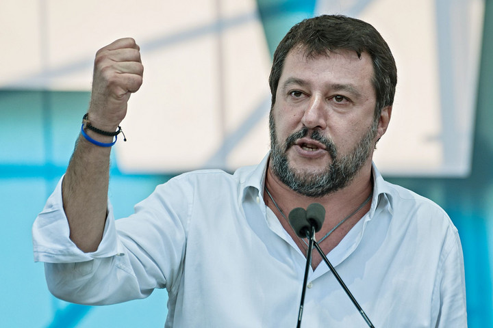 A magyar hősöket méltatta Salvini