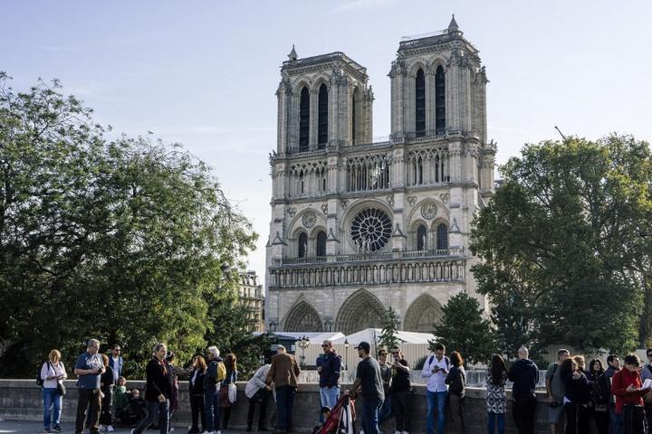 Így néz ki jelenleg a Notre-Dame