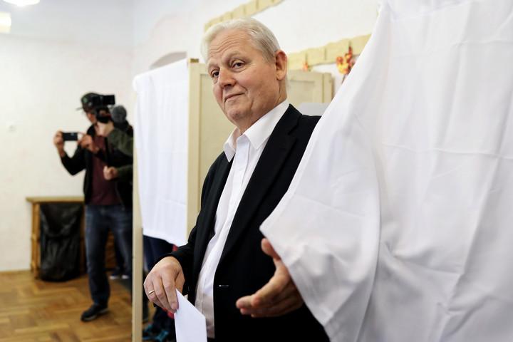 Tarlós István is leadta szavazatát