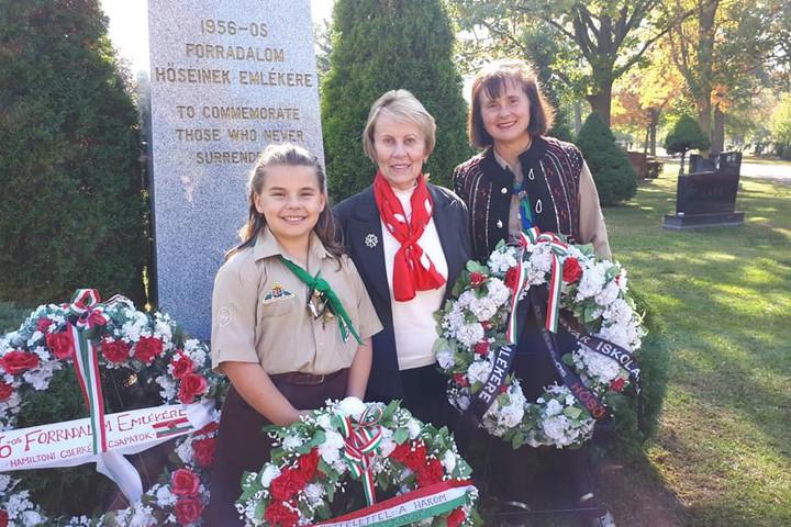 Az anyaország határain túl is megemlékeztek a magyarok 1956 eseményeiről