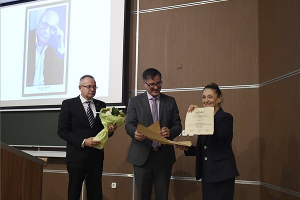 Demján Sándorról neveztek el előadótermet a Budapesti Gazdasági Egyetemen