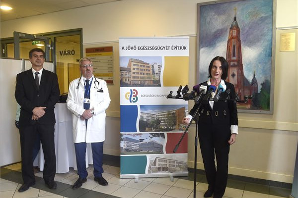 Félmilliárdos fejlesztési támogatást kapott a Bajcsy-Zsilinszky Kórház