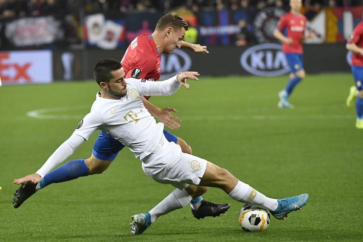 Varga kései góljával nyert a Ferencváros a CSZKA Moszkva otthonában