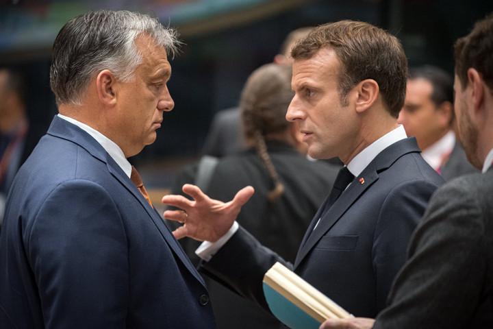Orbán Viktor az EU-csúcs második napján