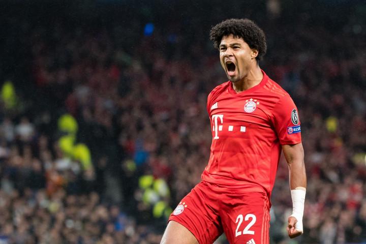 Gnabry négyet vágott, a Bayern kivégezte a Tottenhamet