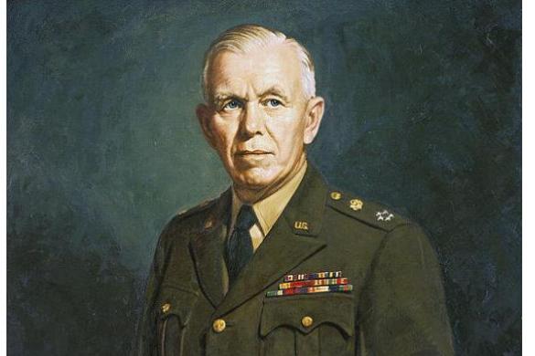 George Marshall 60 éve halt meg