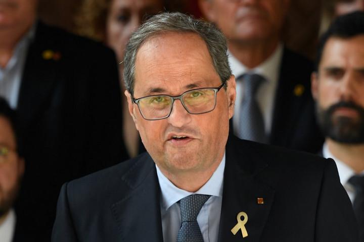 Új függetlenségi népszavazás megrendezését szorgalmazza a katalán elnök