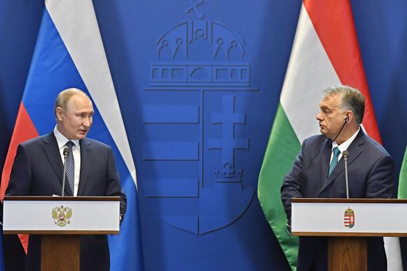 Putyin szerint Orbán Viktor kiemelkedik az európai vezetők közül