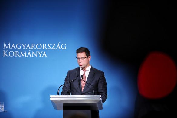 Gulyás: Elkötelezettek vagyunk a budapesti beruházások mellett