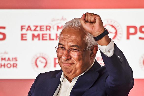 A szocialisták nyertek Portugáliában, negyvenéves mélyponton a jobboldal