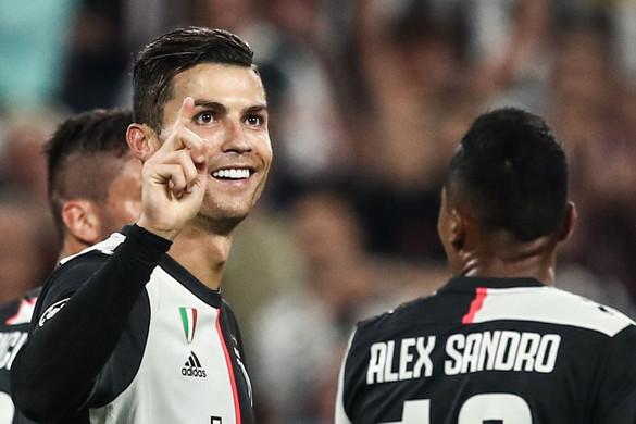 Újabb rekordot döntött a BL-ben Cristiano Ronaldo