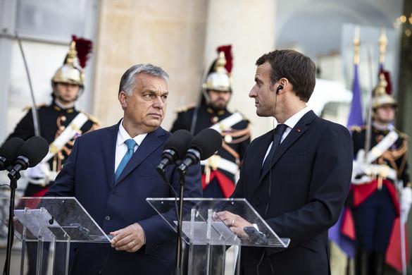 Emmanuel Macron és Orbán Viktor  Európa erős párosa a Spectator szerint
