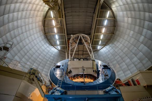 Óriási teleszkóppal kutatják a sötét energiát