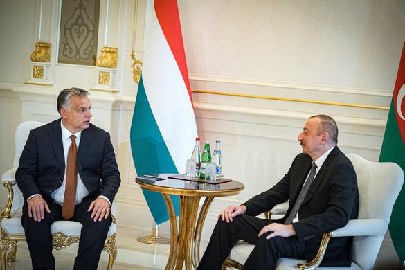 Orbán Viktor Bakuba látogatott