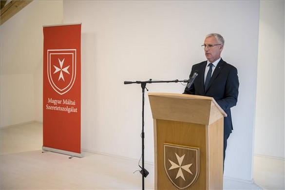 Megújult a máltai szeretetszolgálat dél-dunántúli régiós központja Pécsen
