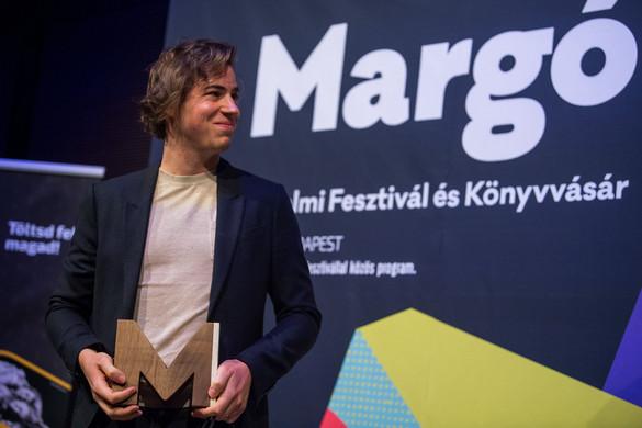 Fehér Boldizsár a Margó-díj idei nyertese