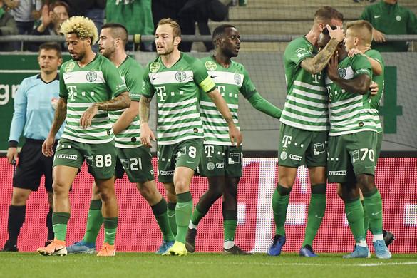 Az Újpest minden helyzetét kihagyta, a Ferencváros nyerte a derbit