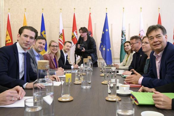 Sebastian Kurz a Zöldek listavezetőjével tárgyalt a koalíciós lehetőségekről