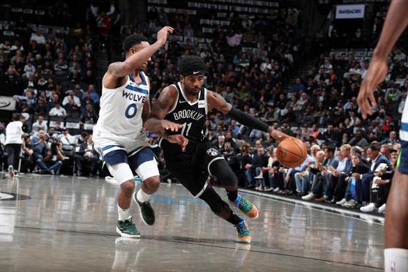 Irving ötven pontot dobott, de így is kikapott a Brooklyn