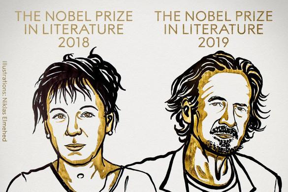 Kihirdették a 2018-as és 2019-es irodalmi Nobel-díj nyerteseit