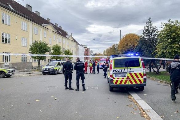 Lopott mentőautóval gázoltak gyalogosokat Oslóban