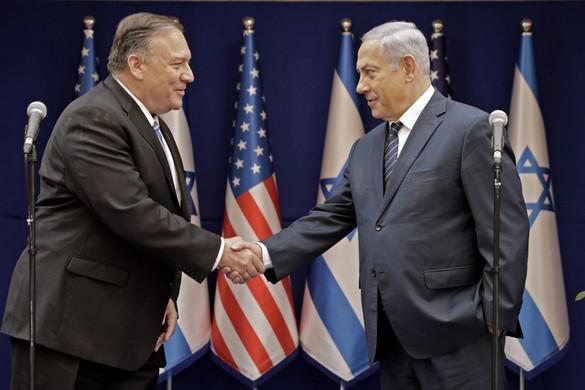Netanjahu és Pompeo megerősítette az Egyesült Államok és Izrael szoros szövetségét