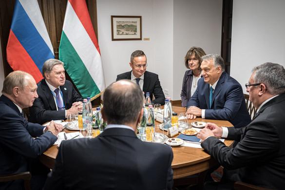 Fidesz: Elképesztő az ellenzék képmutatása Putyin látogatása kapcsán