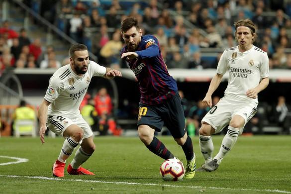 Barcelona helyett Madridban rendezhetik a jövő szombati El Clásicót