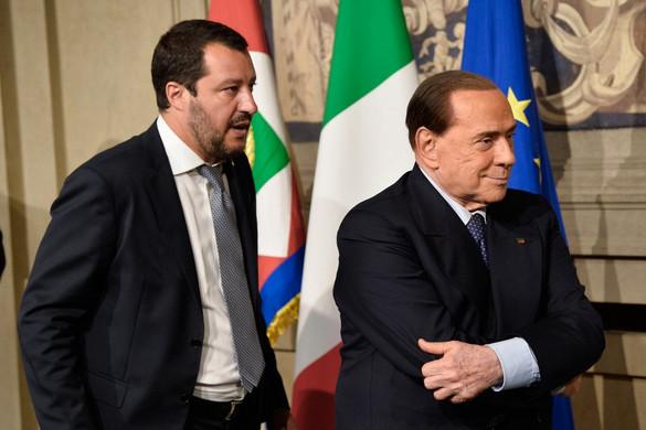 Berlusconi: Salvini az olasz jobbközép vezetője