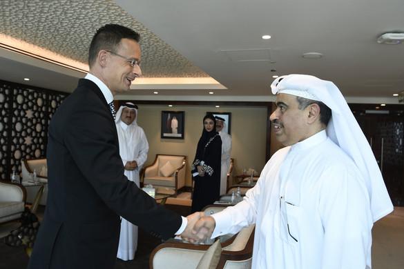 Szijjártó: 2021 januárjától Katartól is vásárolhatunk földgázt