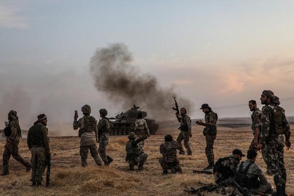 Meghalt egy török katona a kurd erők támadásában