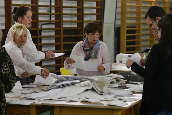 A fővárosban a részvételi arány  49,19 százalék